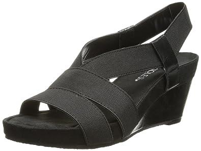 Aerosoles Brasserie Medium/Wide Sandal Black Z55v3763