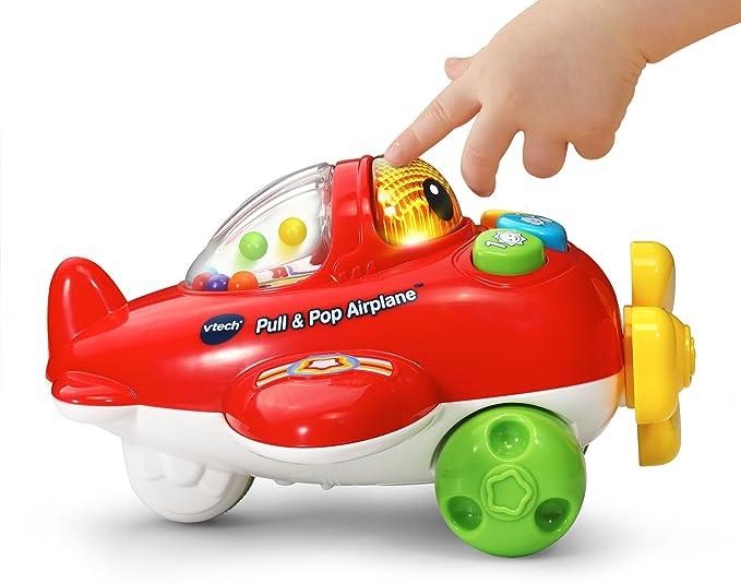 Amazon.com: Vtech (vted9) Tire & Pop avión juguete para ...