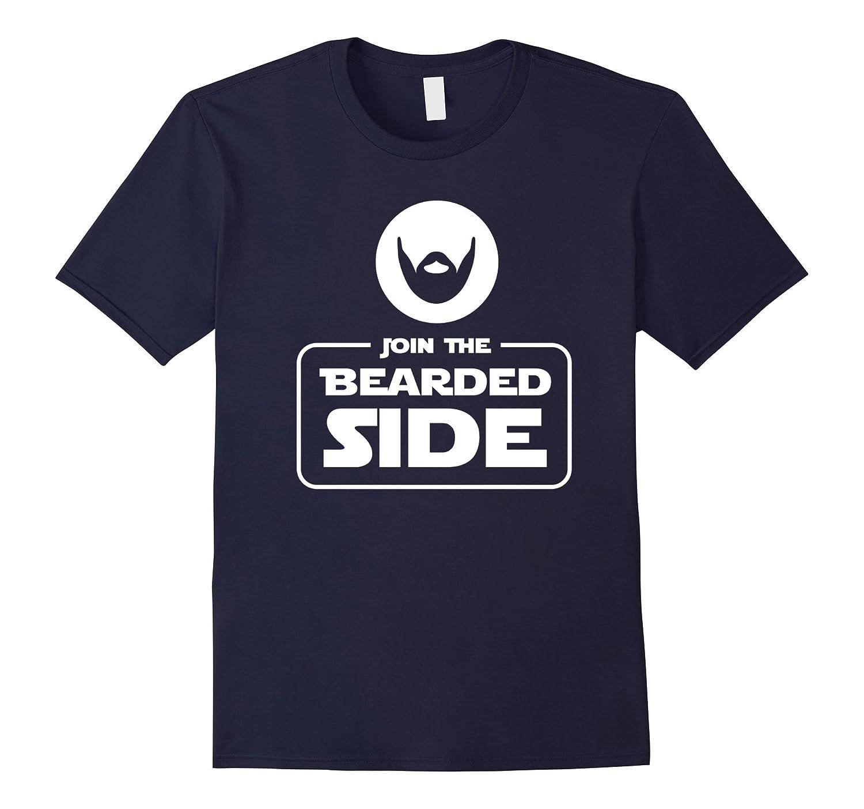 Join The Bearded Side Funny Barber Beard Lover Shirt Gift-TJ