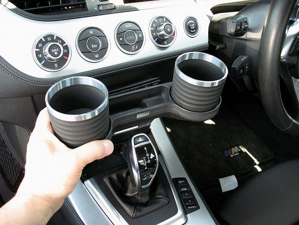 Amazon.es: Alcabo bebidas bolsillo Holder Negro/Anillo taza (al-b114bs) BMW Serie Z4 (E89 no fumadores PAQUETE COCHE) para la derecha/izquierda unidad