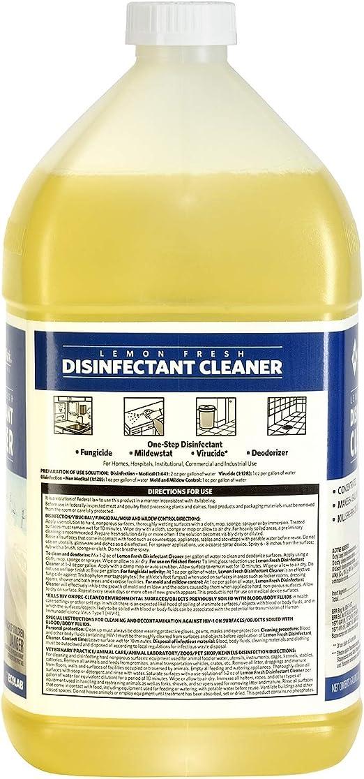 Amazon Com Member S Mark Commercial Lemon Fresh Disinfectant