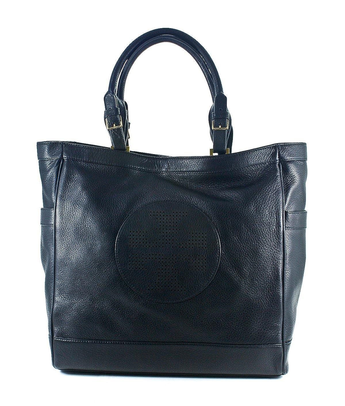 58ce3c70925 Amazon.com  Tory Burch Kipp Tote Bag - Black  Clothing