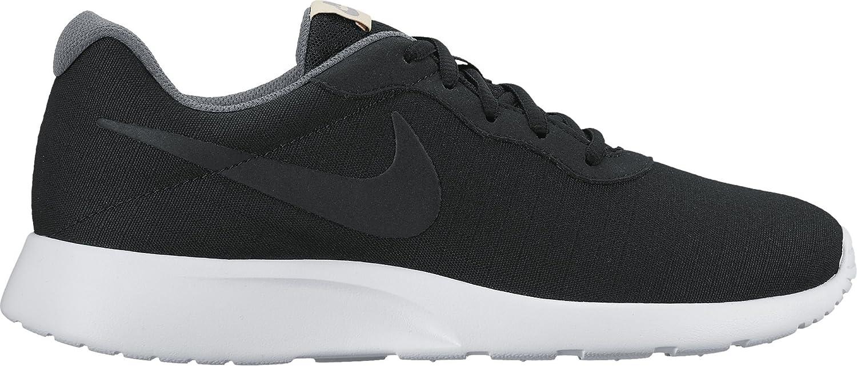 Nike Herren Laufschuhe  47 EU D (M)|schwarz/wei? (Black Black White Light Bone)