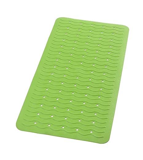 93x34x1 cm Verde Ikea Patrull Tappetino per Vasca da Bagno Gomma