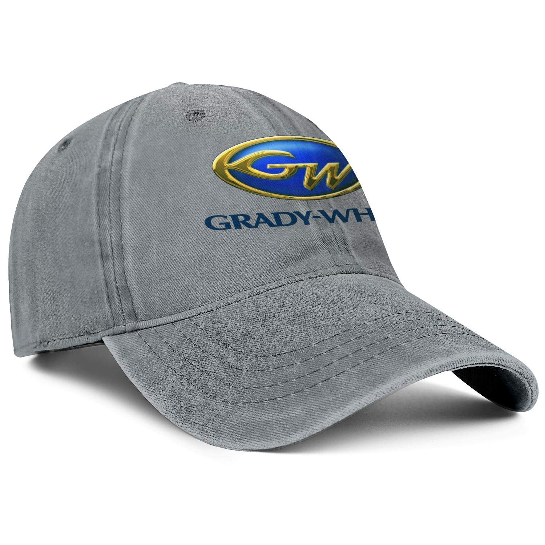 Snapback Mens Womens Adjustable Denim Hip Hop Caps YYWCJ Dad Hats Grady-White-Logo