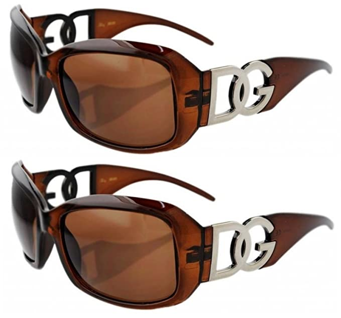 2 Pack DG Designer Sunglasses