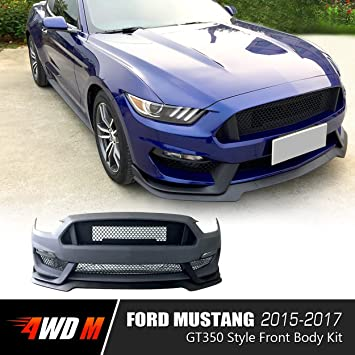 Amazon Com 4wdmuscle Gt350 Style Front Body Kit For Ford Mustang