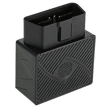 SODIAL Rastreador GPS OBD II Dispositivo De Seguimiento De Camión Coche En Tiempo Real Alarma De