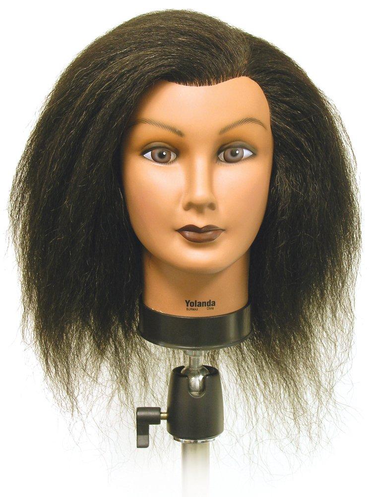 Burmax Celebrity SAM II Manikin Mannequin 100 Human Hair ...