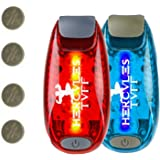 Safety Night Light for Kids | Walking your dog | Easy attach to pet collar | Use as bike Lights