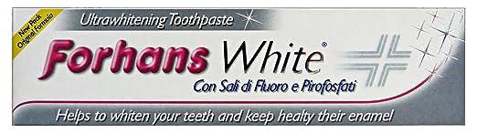 7 opinioni per Forhans White Dentifricio Ultrasbiancate - 75 ml