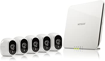 Netgear Arlo Smart Security System with 5 Arlo HD Cameras