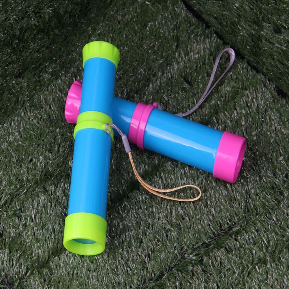 binocoli per bambini Binocoli Retrattili Scienza educativa Giocattoli per bambini Ragazzi Ragazze Toyvian Telescopi portatili tascabili monoculari colore casuale - 1 pezzo