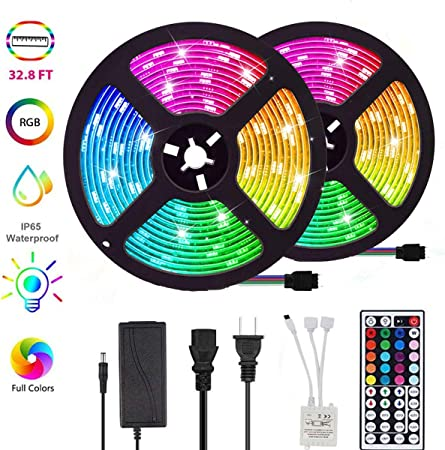 RGB 16 Colors Remote Control Box DC 12V for LED Light Strip security safety J!
