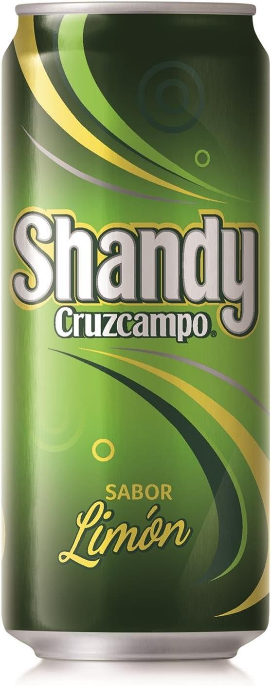 CRUZCAMPO Shandy cerveza sabor limón lata 33 cl