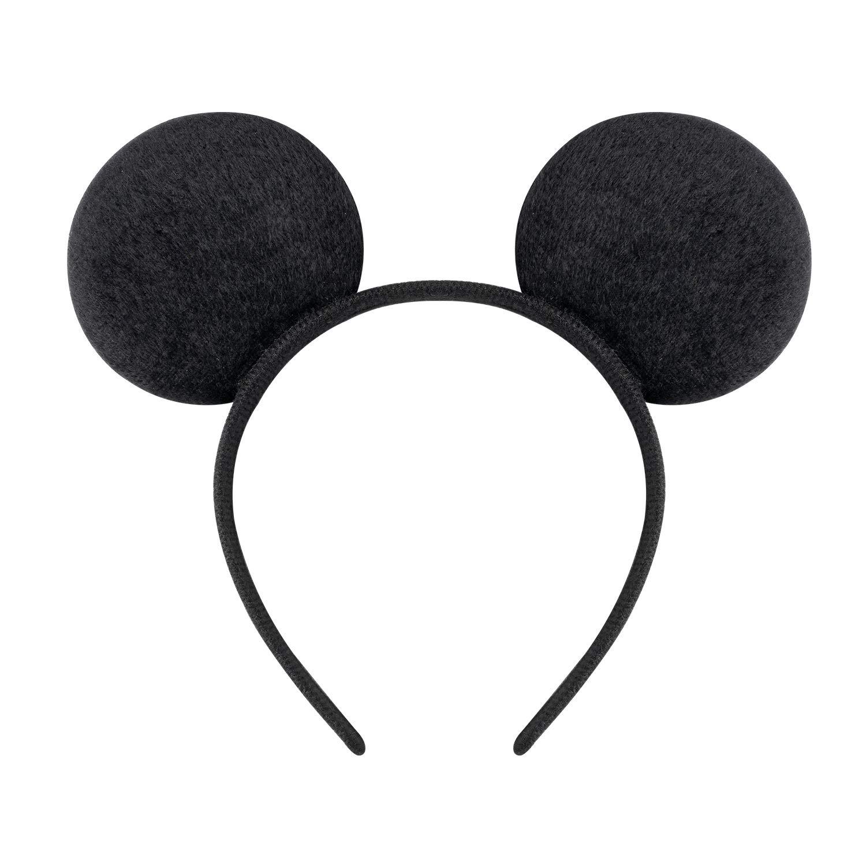 Mouse Headband Orange and Black Mouse Ears Headband Mouse Ears Halloween Mouse Headband Girls Mouse headband Baby Headband,