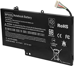 NextCell Battery for HP Pavilion 13 X360 13-A019WM 13-A020ND 13-A020NR 13-A021NR 13-A030ND 13-A040CA 13-A040NZ 13-A041CA 13-A048CA 13-A050CA 13-A050NB 13-A050SQ 13-A051NG 13-A051SR 13-A052NA