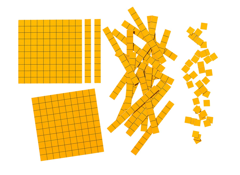 magnetic base ten block set