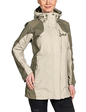 Jack wolfskin damen mantel bunda texapore coat w