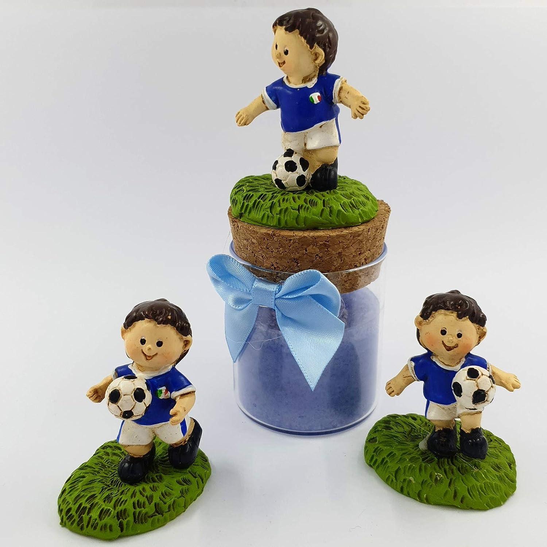 Sindy Bomboniere Bomboneras de fútbol con Velas perfumadas ...