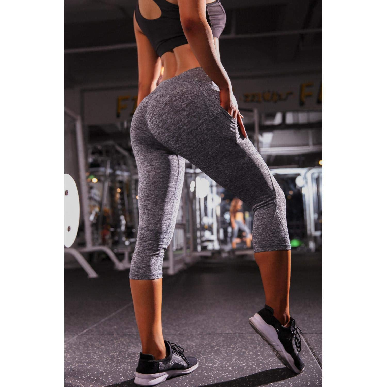 Juzie Damen Sport Leggings Yogahose Fitnesshose Ideal f/ür Yoga Fitness Sport Pilates Laufen