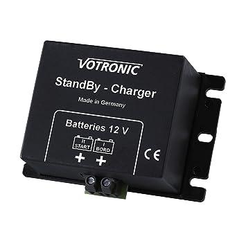 Votronic 2 A 12 V DC a DC recargable a recargable cargador ...
