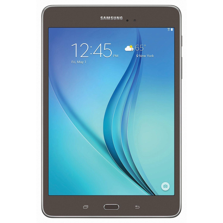 8.0'' Samsung Galaxy Tab A - 16GB Smoky Titanium w/ Carrying Pouch by Samsung