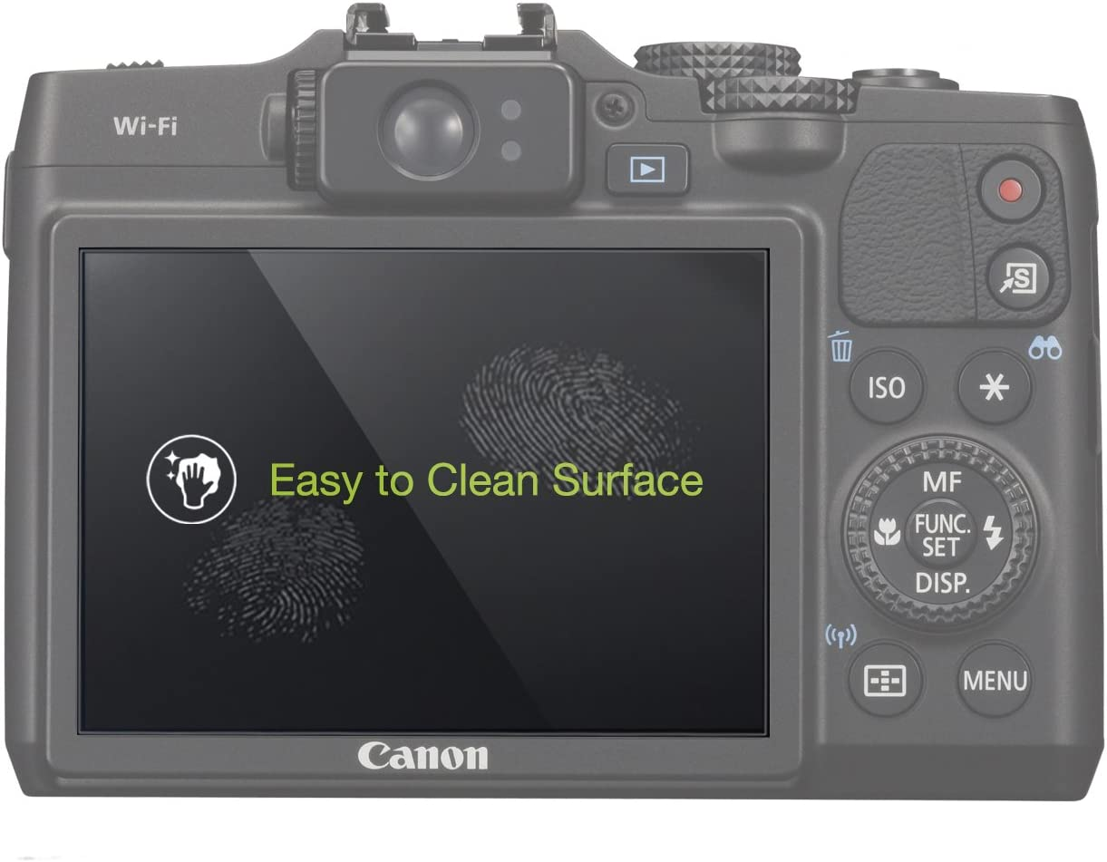 Canon PowerShot G15 MegaGear LCD Optical Screen Protector For Canon PowerShot G16
