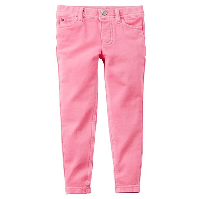 dfd1f88bf46c7 Image Unavailable. Image not available for. Color: Carter's Baby Girls' French  Terry Jeggings ...