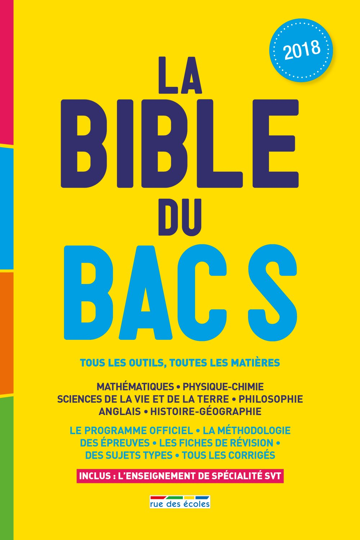 La bible du bac S (French) Paperback – January 9, 2018