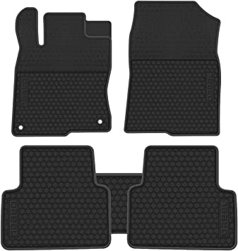 Auto Car Floor Mats FloorLiner For Honda Civic 10th 2016-2017 All-Weather
