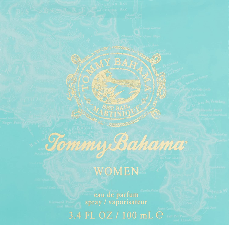 Tommy Bahama Martinique Women Eau de Parfum Spray,3.4 Fl Oz