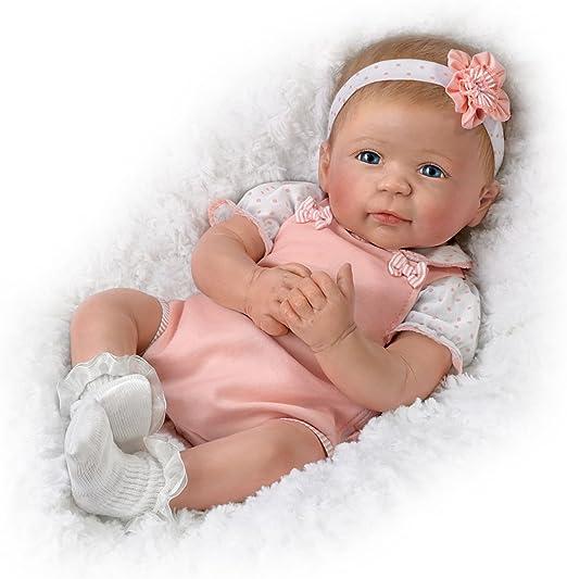 Little Squirt Lifelike Newborn Baby Doll by The Bradford Exchange