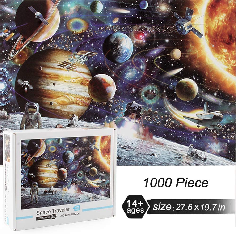 Space Theme 1000 Piece Jigsaw Puzzle