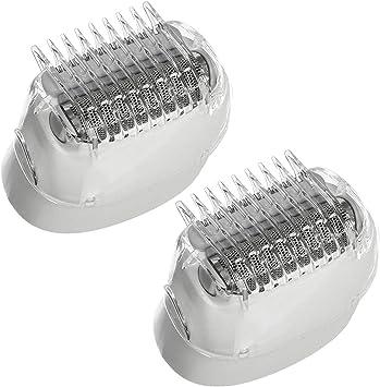 Braun - Cabezal de afeitadora para depiladora de seda Epil 5 7 series (paquete de 2): Amazon.es: Salud y cuidado personal