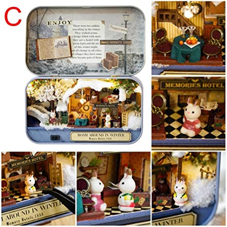 Oddity Kit De Muebles Para Casa De Muñecas En Miniatura