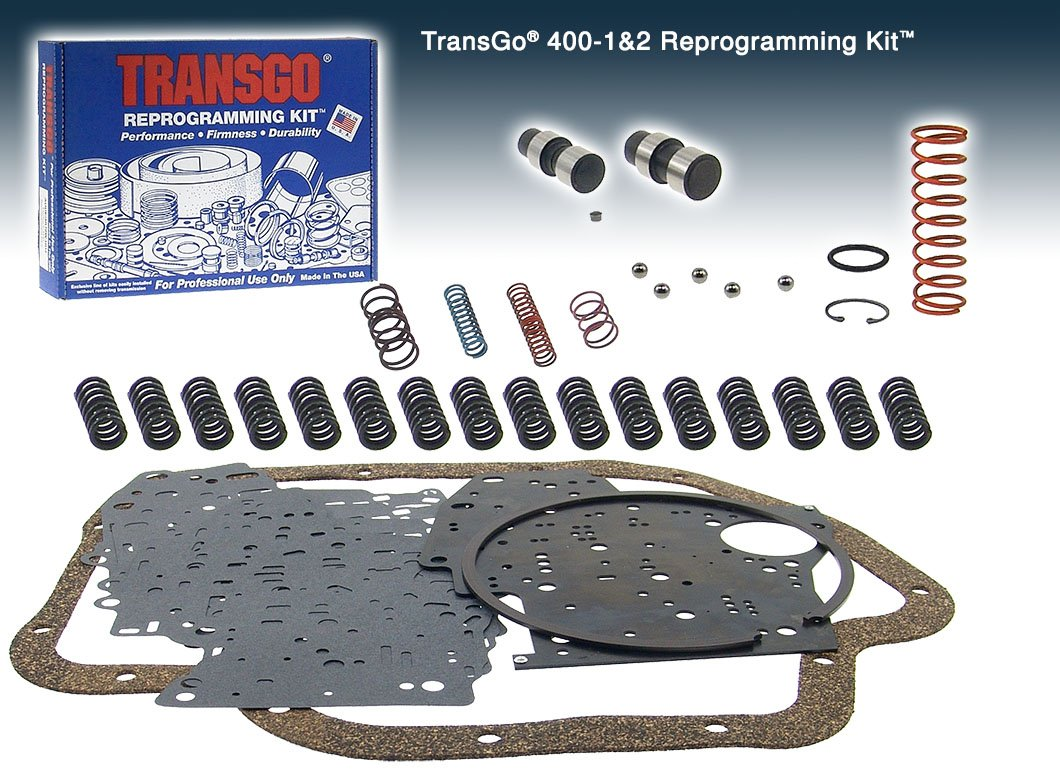 Transgo 40012 Reprogramming Kit, Heavy Duty & Transmaxx