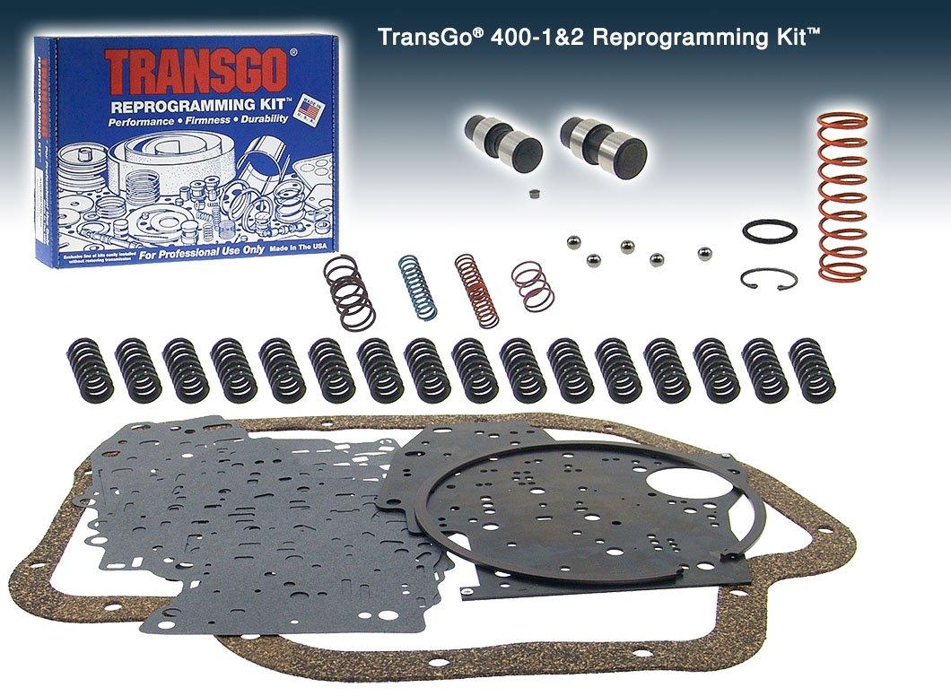 Transgo 40012 Reprogramming Kit, Heavy Duty &