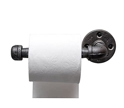 Amazon.com: Industrial Pipe Toilet Paper Tissue Holder by DIY Cartel ...