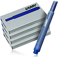 Cartuchos de tinta para pluma estilográfica Lamy 2077 - 4er-Set, T10, color azul, 4 paquetes (20 cartuchos)