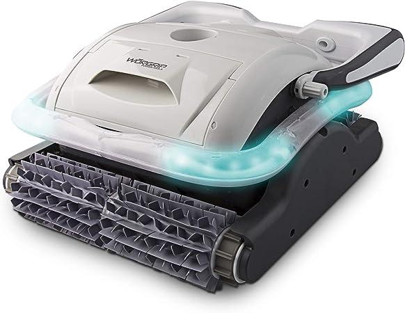 alfa dyser WORGRIP Robot limpiafondos de Piscina 200W Cable 18m Fondo y Paredes: Amazon.es: Jardín