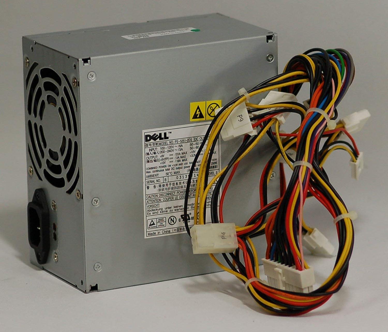 DELL 250w Tower Power Supply Optiplex GX240 GX260 GX270 Dimension B110 1100 2400 3000 4500 4600 8200 8300 Identical Parts:P3117 M1608 H2678 2Y054 N2286 8X949 0N380 K2946 K2583 4R656 4G456 2N333 F0340