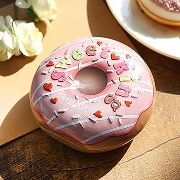 Zbtrade Doughnut Shaped Gift Box Birthday Wedding Party Christmas Eve Chocolate Candy Case Xmas Sweet