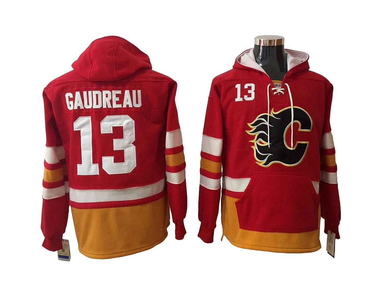 Gaudreau 13 Flames Hockey Hoodie Men Onesie Sweatshirt Champion Tank top Sweaters Pullover Jersey