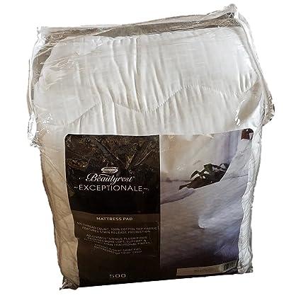Simmons Beautyrest exceptionale almohadilla de colchón, King, 50,8 cm profundo colchones