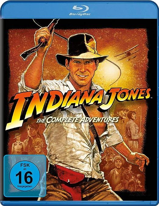 Indiana Jones - DVD Box - Blu Ray