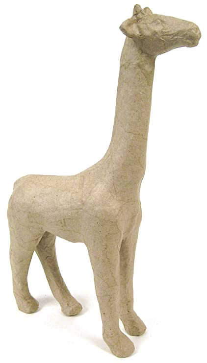 Decopatch - Jirafa para decorar (tamaño pequeño, papel maché), color ...