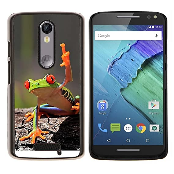 Planetar® (You Cool Frog Green Jungle Creature)  Motorola Droid Turbo 2 / Moto