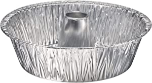 Pinkada (10 Pack) Cake Pan Disposable Aluminum Foil Angel Round Cake Tin 10