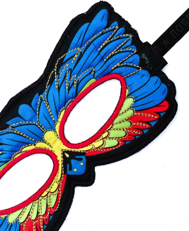 DREAMY DRESS-UPS Fanciful Feathered Friend Bird Mask Cardinal